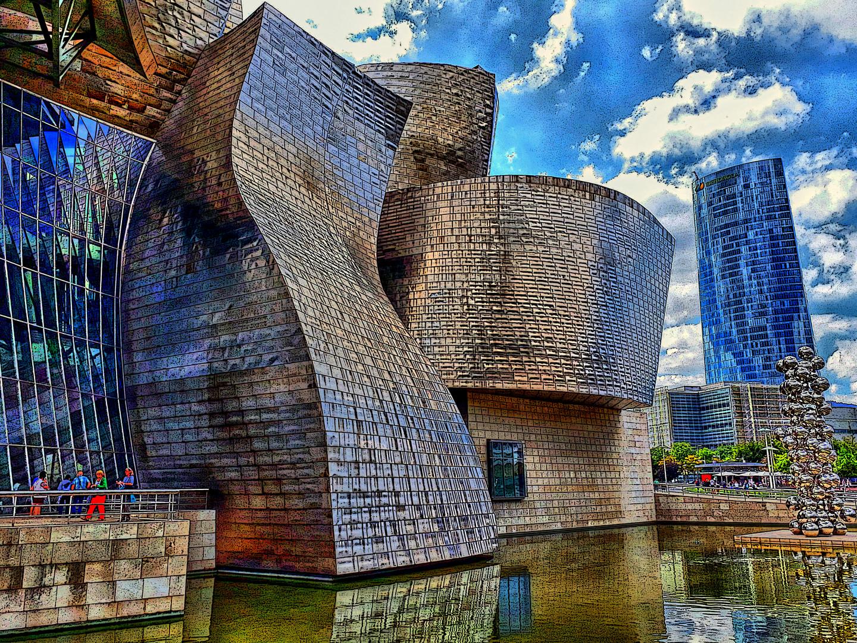 Bilbo - Museu Guggenheim - Biscaia - País Basc