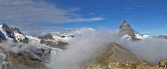 Bild  4 Klein Matterhorn bis Matterhorn der 6er Serie,..