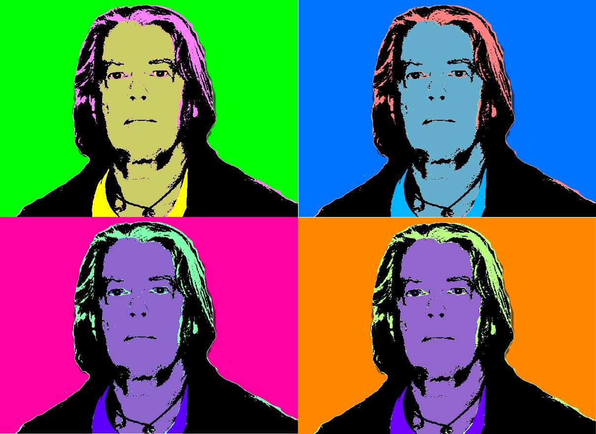 Bild mit Warhol Effekt