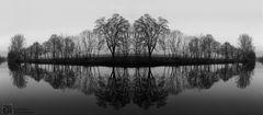 Bild/Abbild, Real/Virtual in Spiegelungen