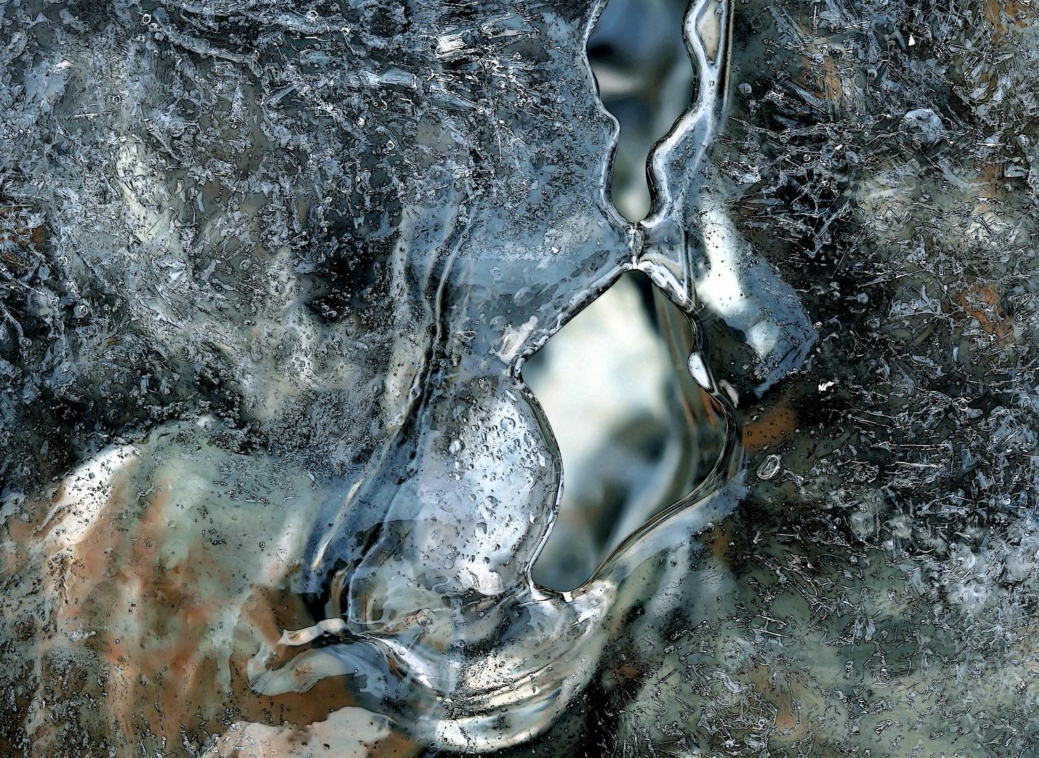 Bilder, die uns berühren!  - L'eau, la glace et l'air parlent à notre âme!