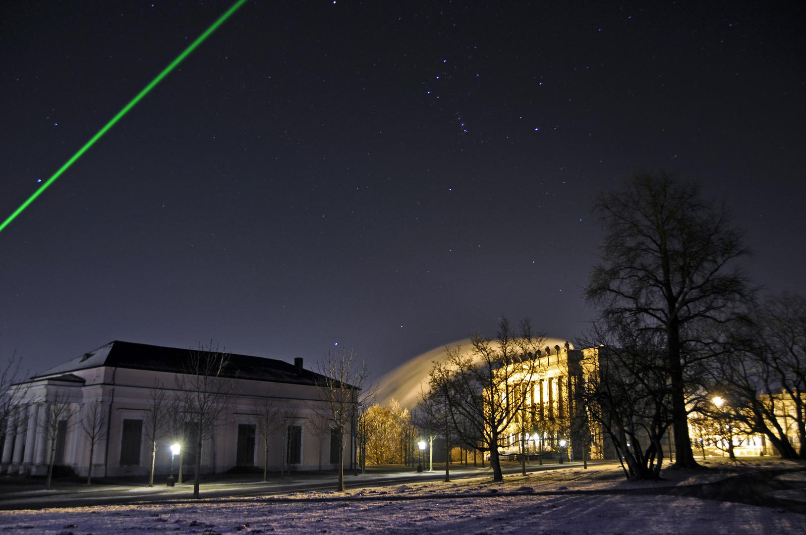 Bilder einer Stadt - Kassel bei Nacht - Wilhelmshöhe Ballhaus und Schloss