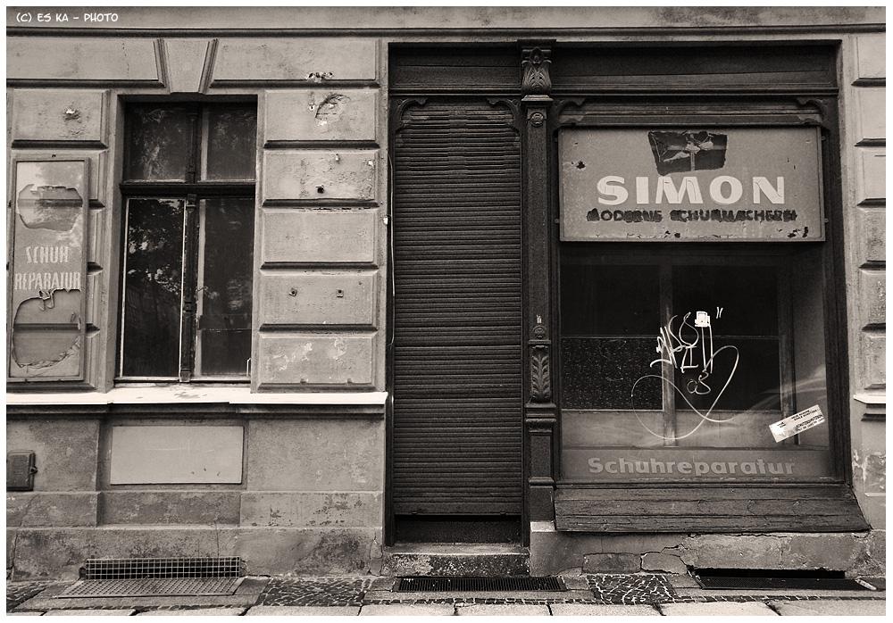 Bilder (m)einer Stadt: Simon (so modern nun auch wieder nicht)