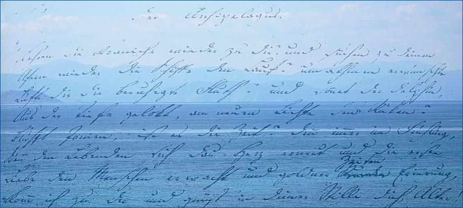 Bilder und Texte 11: Friedrich Hölderlin
