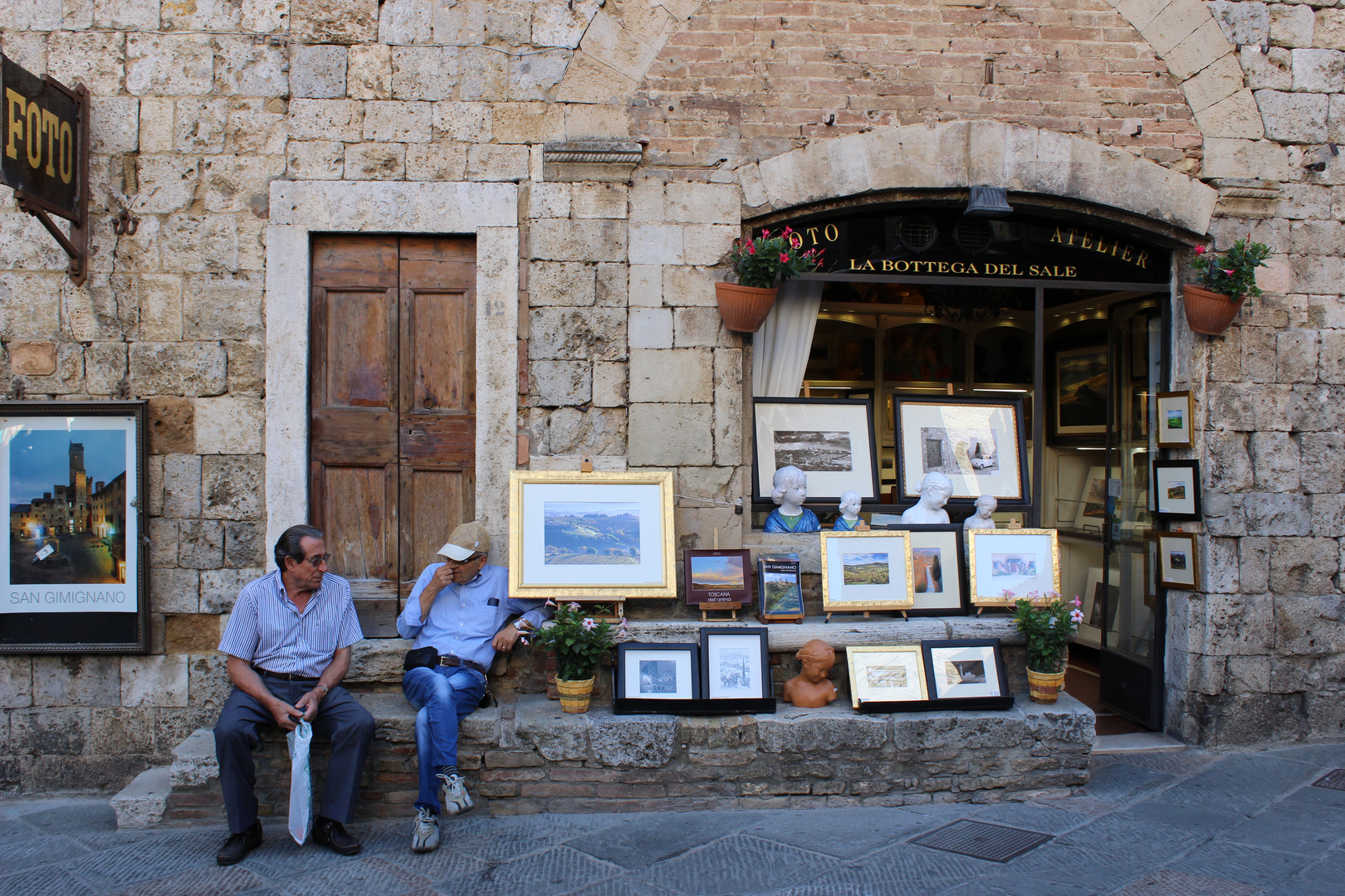 Bilder Verkäufer - San Gimignano