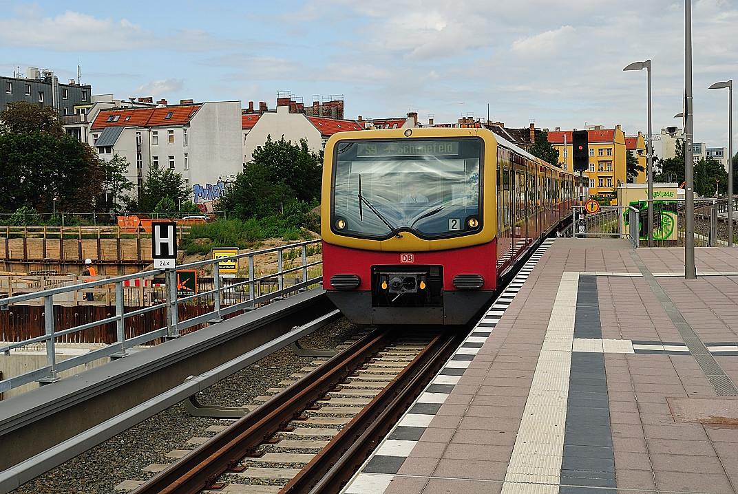 Bilder von der Berliner S-Bahn