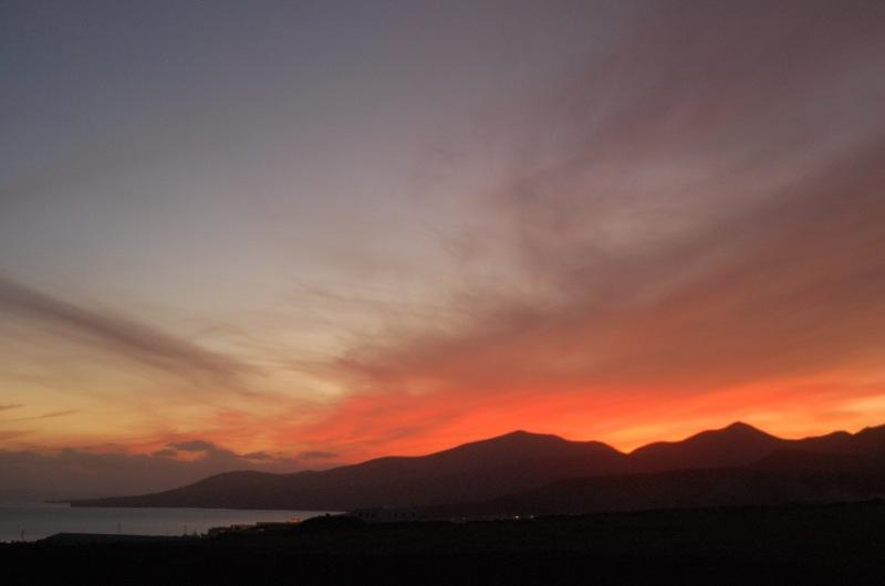 Bilderbuch Sonnenuntergang