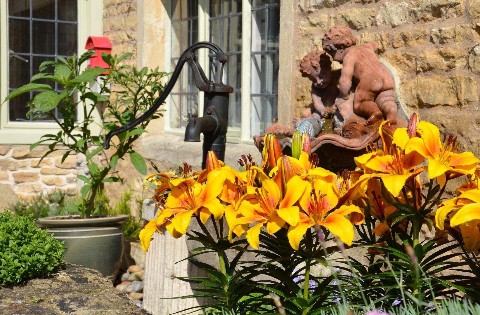 Bilderbuchvorgarten