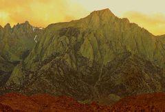Bildgedicht:Gipfelglück(1) [Lone Pine,Kalifornien,Juli 2007]