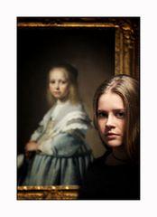 Bildnis eines Mädchens in Blau ... und eines anderen