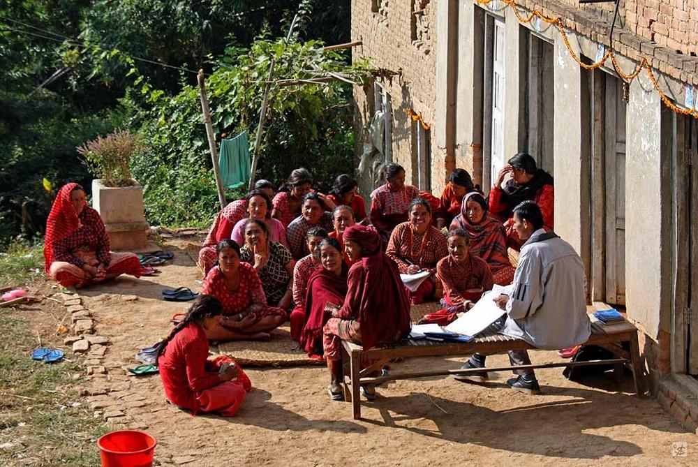 Bildung für alle, auch für Frauen!