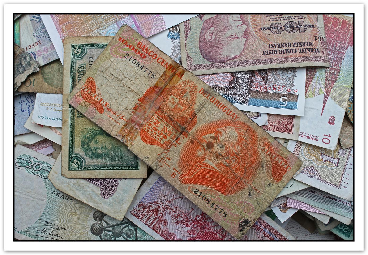 Billetes de Ayer
