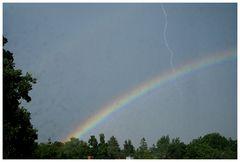 Biltz und Regenbogen...