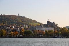 Bingen am Rhein (III) - Burg Klopp