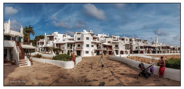 Binibeca Vell - Die weiße Stadt