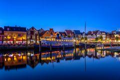 Binnenhafen von Husum, Nordsee