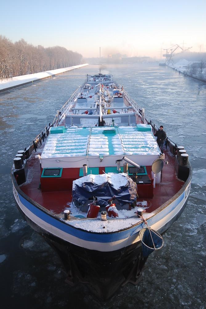 Binnenschiffer haben es auch schwer!
