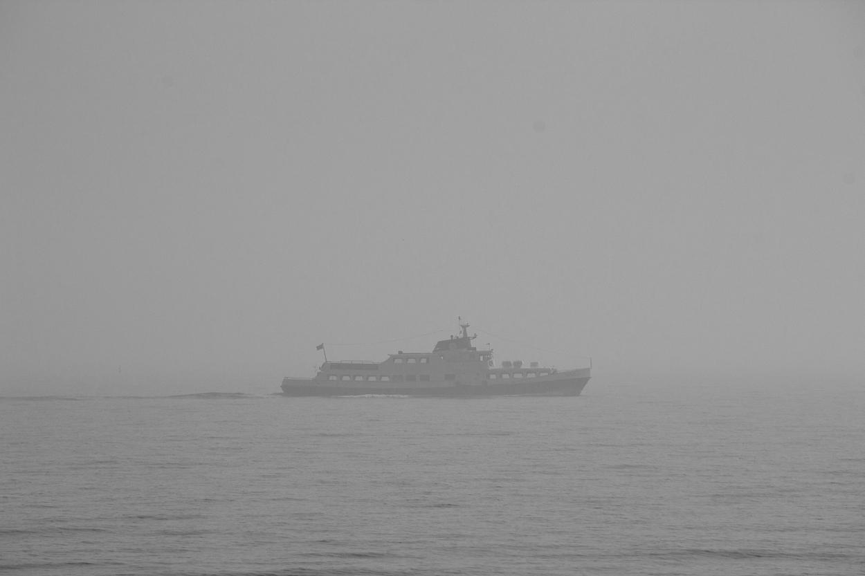 Binz im Nebel