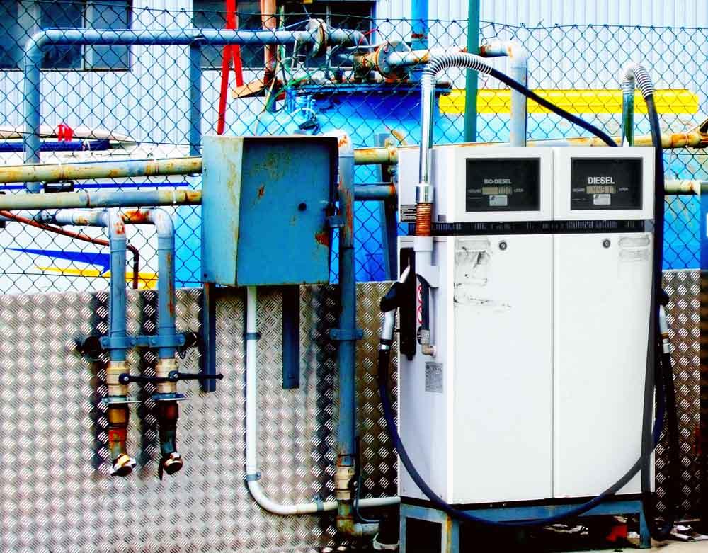 Bio-Tankstelle