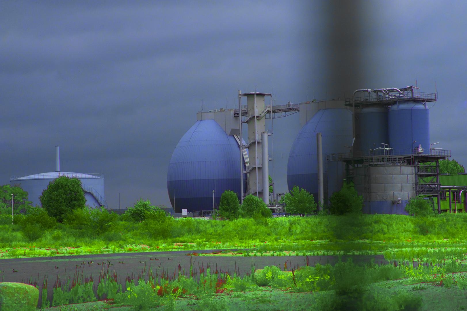 BiO+Gas+Anlage in Dresden