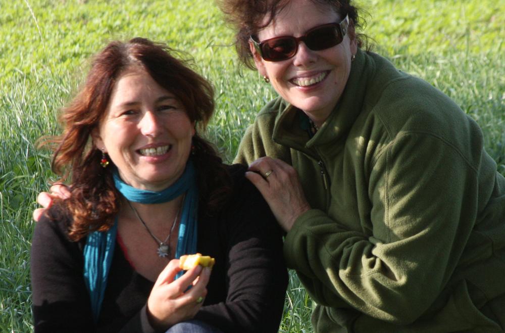 Birgit und ich