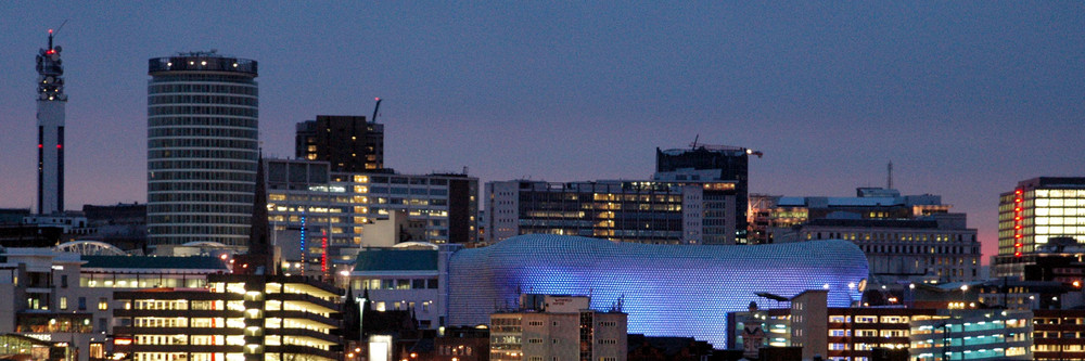 Birmingham by night