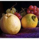 Birne  und  Zitrone