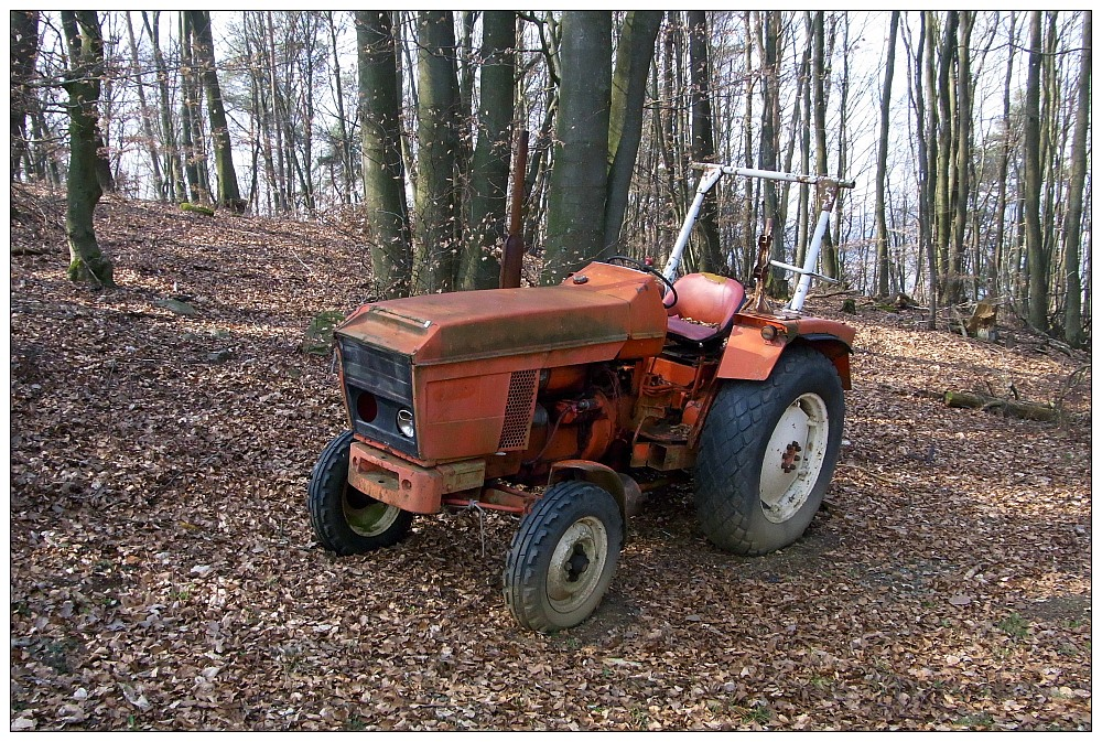 bis hierher und nicht weiter foto bild traktor. Black Bedroom Furniture Sets. Home Design Ideas