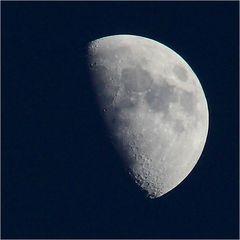 bis zum Mond und zurück ...