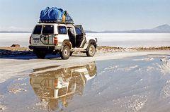 Bitte einsteigen zur Fahrt in das Abenteuer
