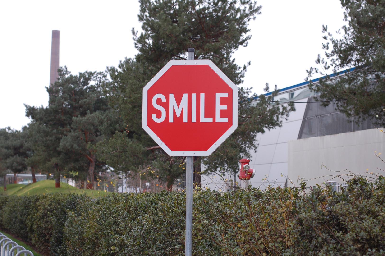 bitte lächeln......