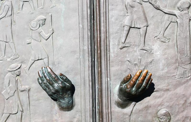 Bittende Hände