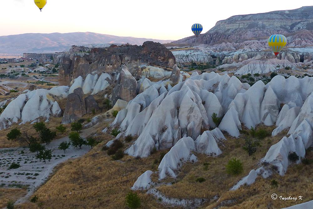 Bizarre Felsenlandschaft