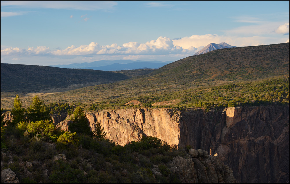 [ Black Canyon of the Gunnison ]