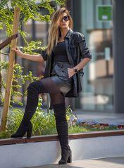 black dressed Lady II