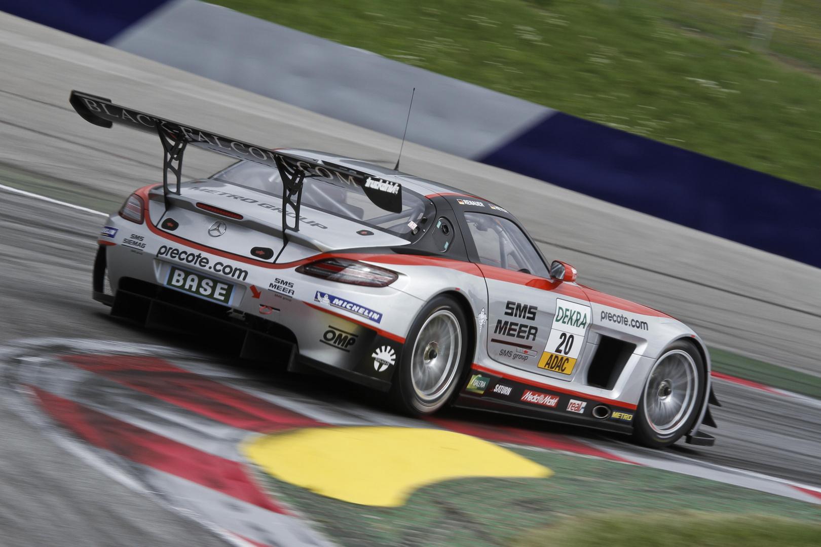 Black Falcon Mercedes SLS AMG GT3
