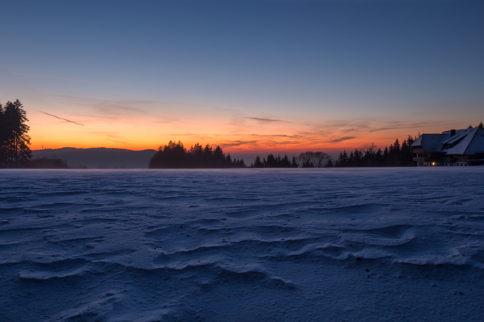 Black forest sun set (new)