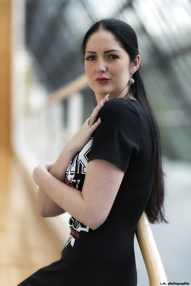 ... black is beautiful ... und ein bezauberndes Model ;-)