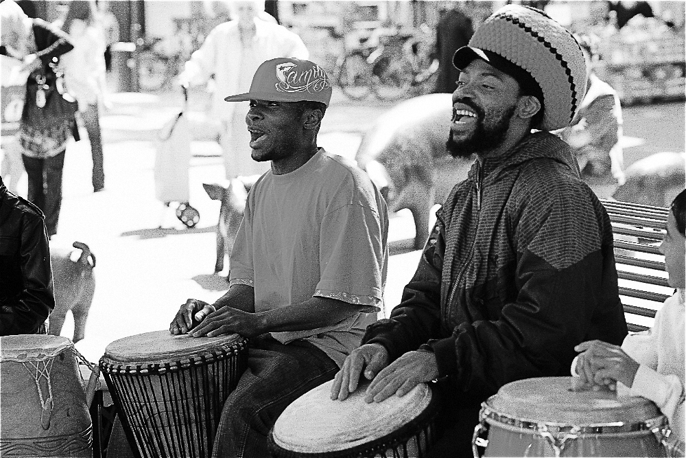 BLACK MUSIC IN THE STREET.....