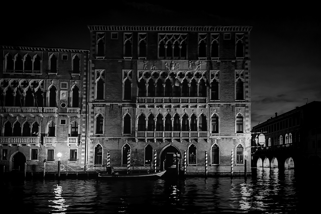 Black Night at Venice