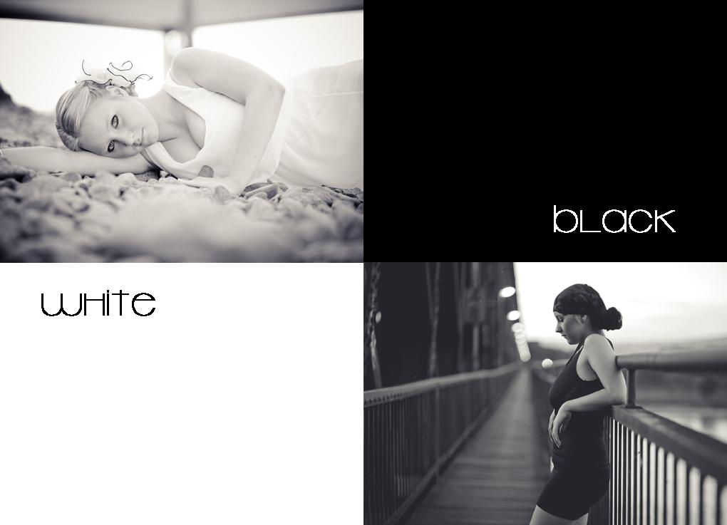 black or white...