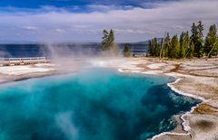 Black Pool, Yellowstone Lake, Wyoming, USA