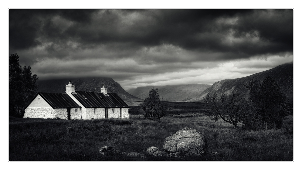 black rock cottage foto bild europe united kingdom ireland scotland bilder auf fotocommunity. Black Bedroom Furniture Sets. Home Design Ideas