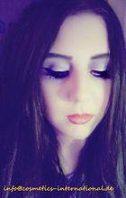 Black sad eyes...