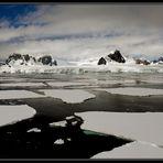 Black water, white mountains