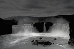 black-white of iceland I