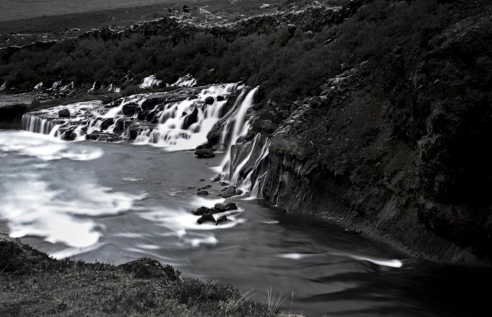 black-white of iceland II