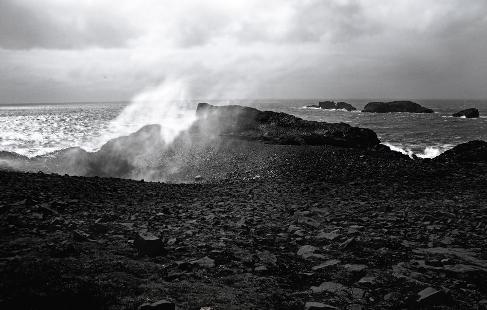 black-white of iceland XI