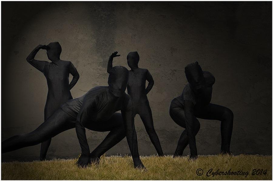 Black (WO) man