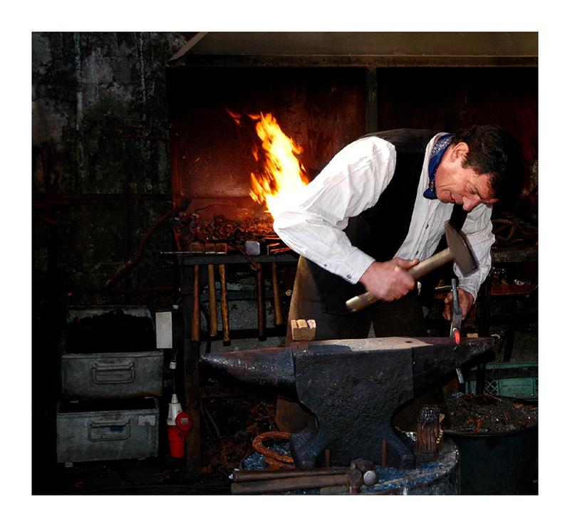 "Blacksmith ""Peter Marshal"""